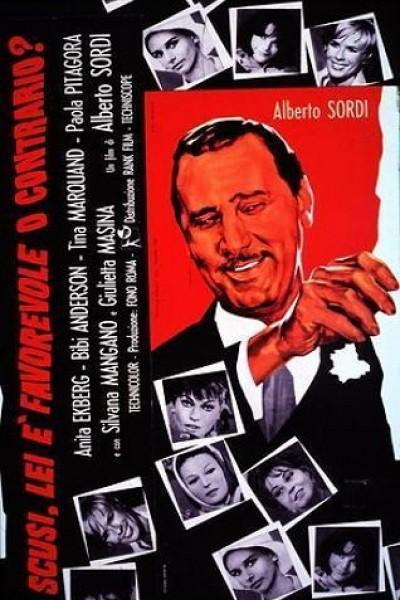 Caratula, cartel, poster o portada de El gran amante