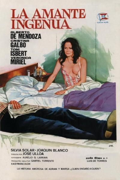 Caratula, cartel, poster o portada de La amante ingenua