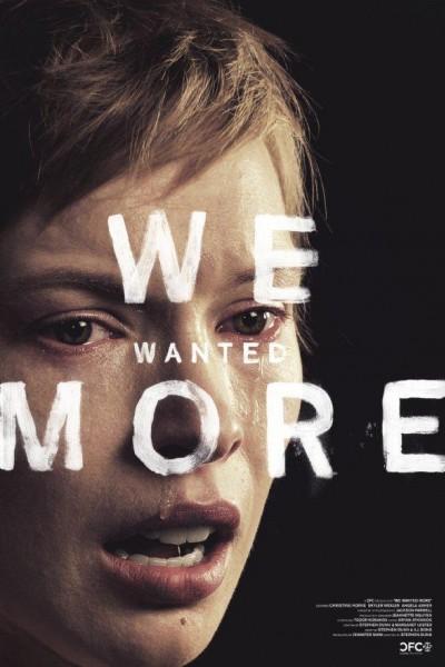 Caratula, cartel, poster o portada de We Wanted More