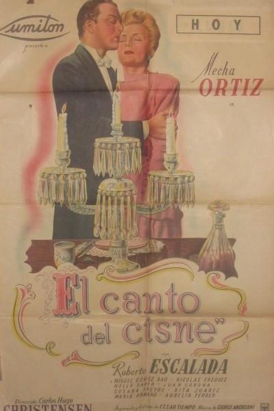 Caratula, cartel, poster o portada de El canto del cisne