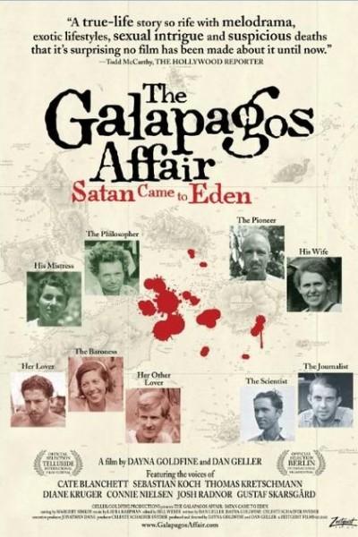 Caratula, cartel, poster o portada de The Galapagos Affair: Satan Came to Eden