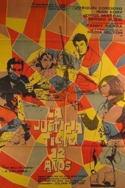 Caratula, cartel, poster o portada de La justicia tiene doce años