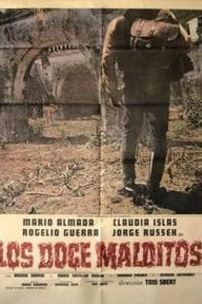 Caratula, cartel, poster o portada de Los doce malditos
