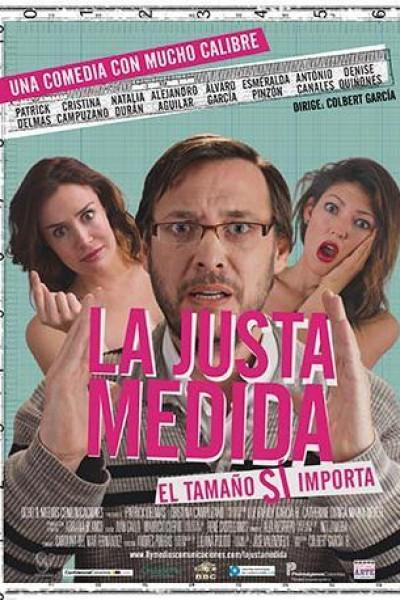 Caratula, cartel, poster o portada de La justa medida