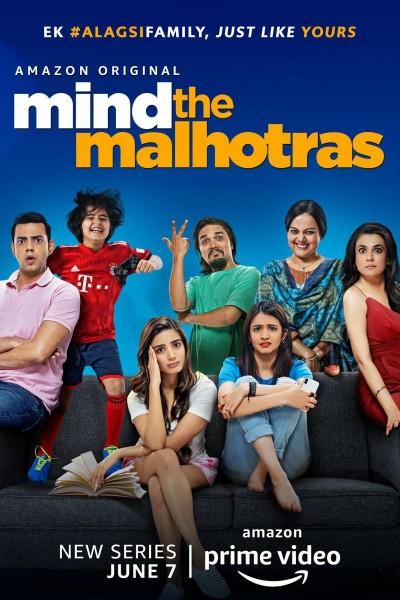 Caratula, cartel, poster o portada de Mind The Malhotras