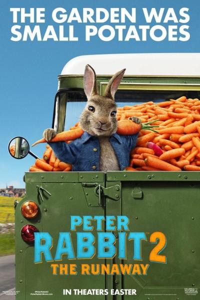 Caratula, cartel, poster o portada de Peter Rabbit 2: A la fuga