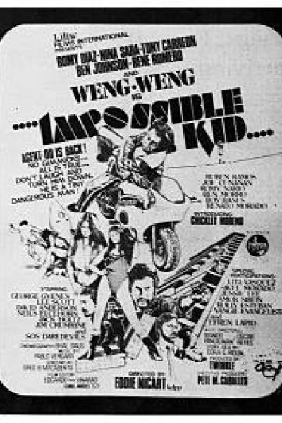 Caratula, cartel, poster o portada de The Impossible Kid