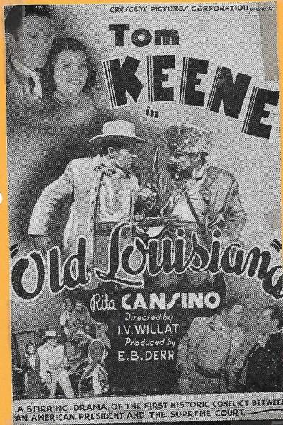 Caratula, cartel, poster o portada de Old Louisiana