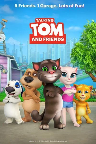 Caratula, cartel, poster o portada de Talking Tom and Friends