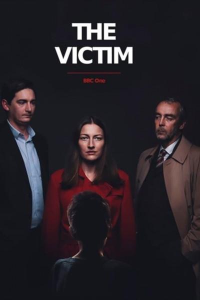 Caratula, cartel, poster o portada de La víctima