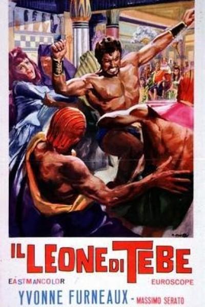 Caratula, cartel, poster o portada de El león de Tebas