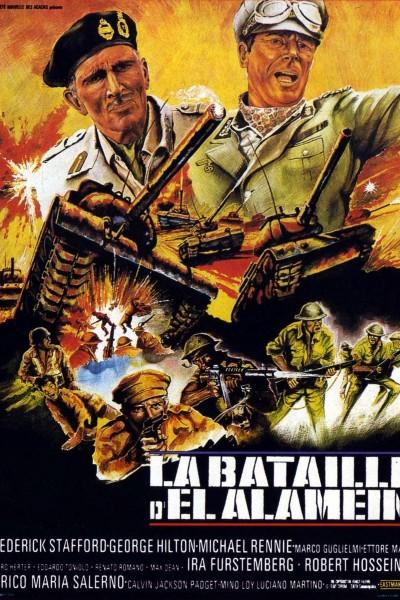 Caratula, cartel, poster o portada de La batalla del Alamein
