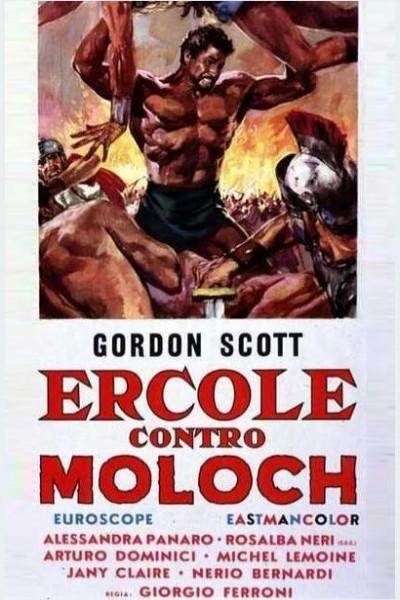 Caratula, cartel, poster o portada de Ercole contro Moloch