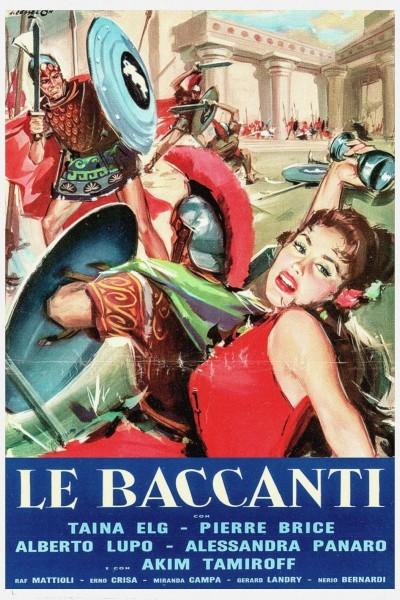 Caratula, cartel, poster o portada de Las amantes de los dioses