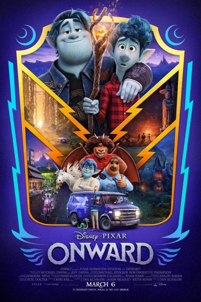 Caratula, cartel, poster o portada de Onward