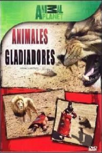Caratula, cartel, poster o portada de Animales gladiadores