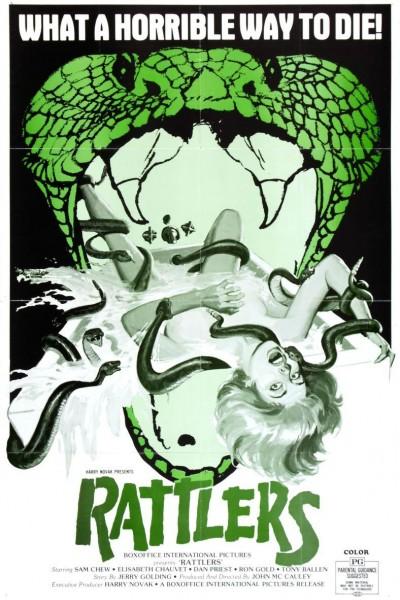Caratula, cartel, poster o portada de Serpientes de cascabel