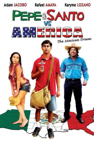 Caratula, cartel, poster o portada de Pepe & Santo vs. América