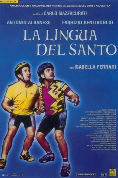 Caratula, cartel, poster o portada de La lengua del santo