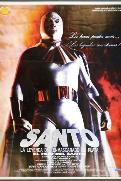 Caratula, cartel, poster o portada de Santo: la leyenda del enmascarado de plata