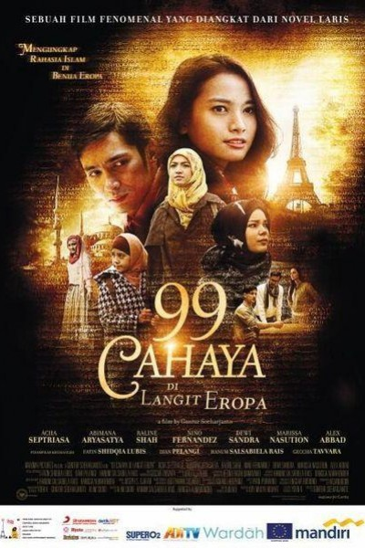 Caratula, cartel, poster o portada de 99 Cahaya di Langit Eropa