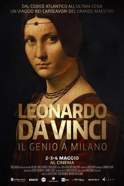 Caratula, cartel, poster o portada de Leonardo Da Vinci, el genio en Milán