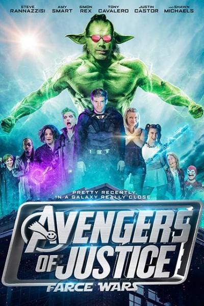 Caratula, cartel, poster o portada de Avengers of Justice: Farce Wars