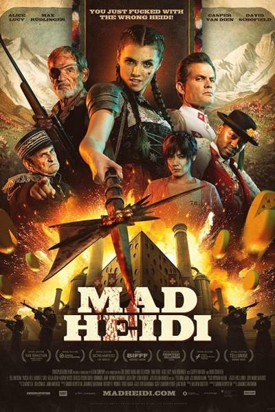 Caratula, cartel, poster o portada de Mad Heidi