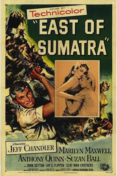 Caratula, cartel, poster o portada de Al este de Sumatra
