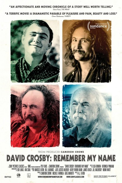 Caratula, cartel, poster o portada de David Crosby: Remember My Name
