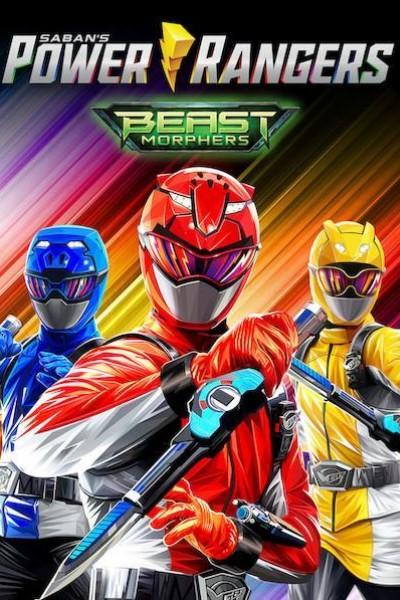 Caratula, cartel, poster o portada de Power Rangers Beast Morphers