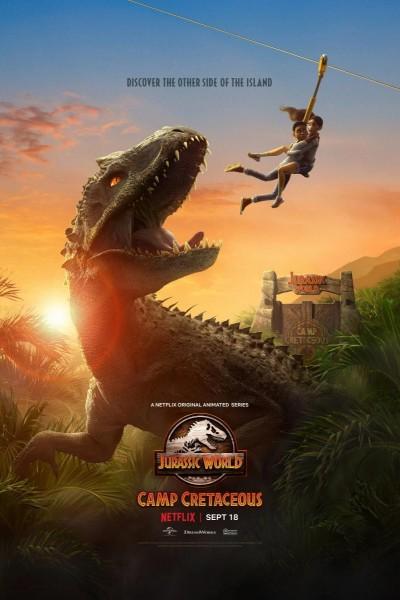 Caratula, cartel, poster o portada de Jurassic World: Campamento Cretácico