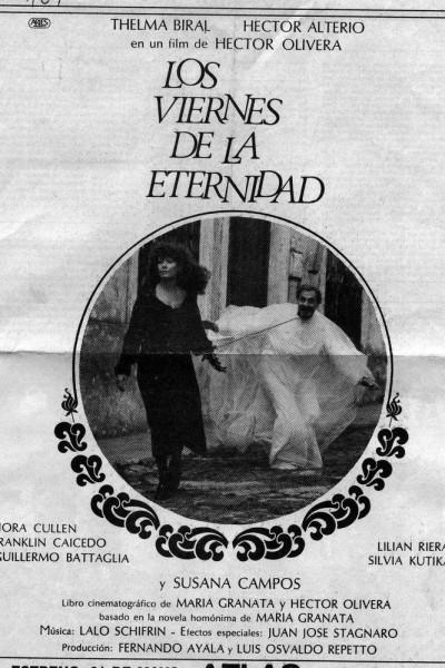 Caratula, cartel, poster o portada de Los viernes de la eternidad