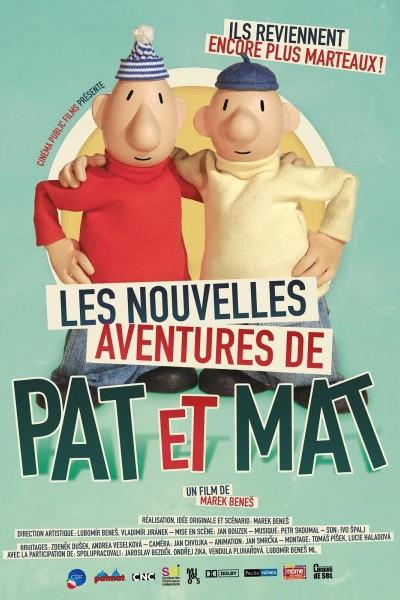 Caratula, cartel, poster o portada de Les nouvelles aventures de Pat et Mat