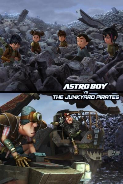 Caratula, cartel, poster o portada de Astro Boy vs. The Junkyard Pirates