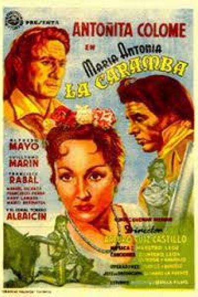 Caratula, cartel, poster o portada de María Antonia \'La Caramba\'