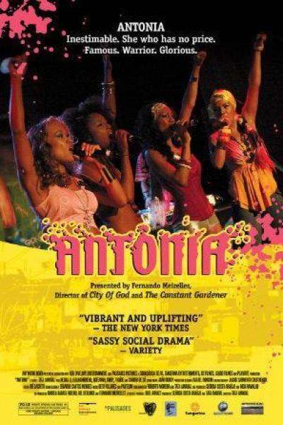 Caratula, cartel, poster o portada de Antonia