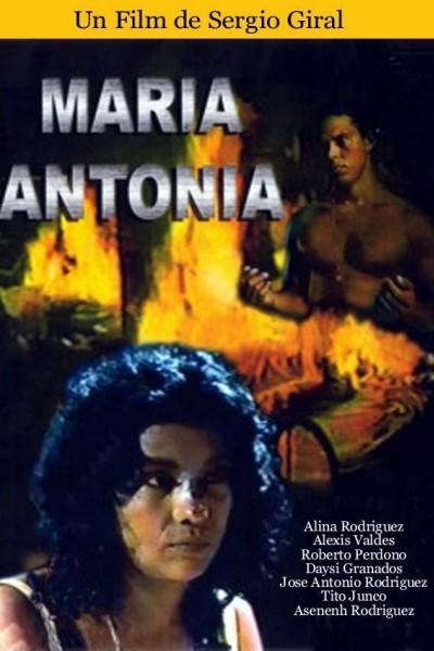 Caratula, cartel, poster o portada de María Antonia