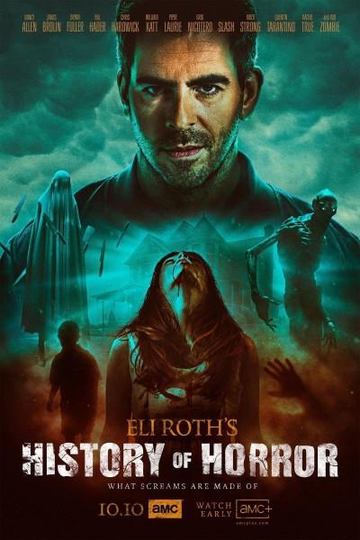 Caratula, cartel, poster o portada de AMC Visionaries: Eli Roth - La historia del terror