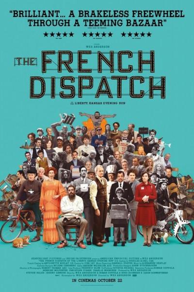 Caratula, cartel, poster o portada de The French Dispatch