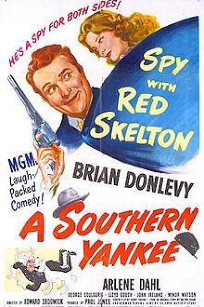 Caratula, cartel, poster o portada de A Southern Yankee