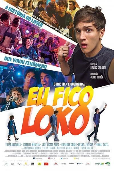 Caratula, cartel, poster o portada de Eu Fico Loko