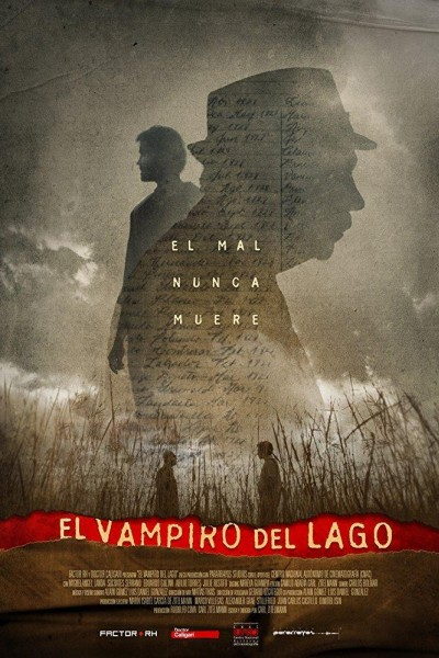 Caratula, cartel, poster o portada de El vampiro del lago