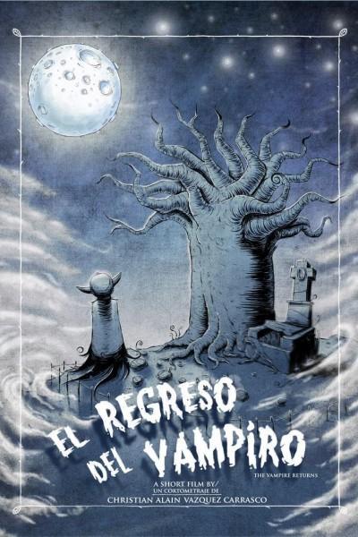 Caratula, cartel, poster o portada de El regreso del vampiro