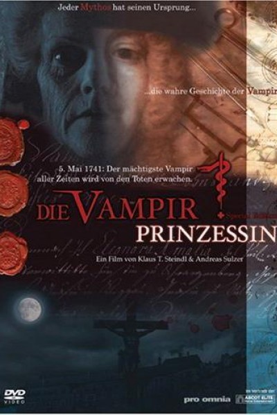 Caratula, cartel, poster o portada de La princesa vampiro