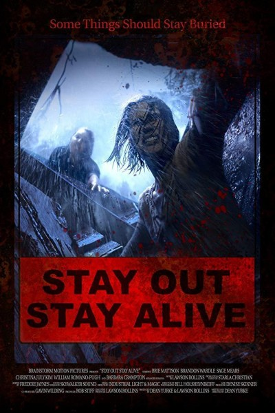 Caratula, cartel, poster o portada de Stay Out Stay Alive