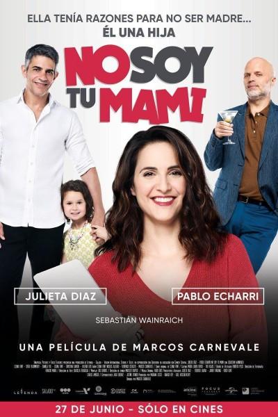 Caratula, cartel, poster o portada de No soy tu mami
