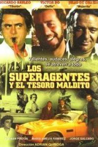 Caratula, cartel, poster o portada de Los superagentes y el tesoro maldito