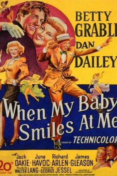 Caratula, cartel, poster o portada de When My Baby Smiles at Me