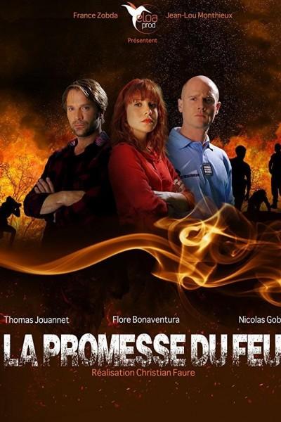 Caratula, cartel, poster o portada de La promesa de fuego